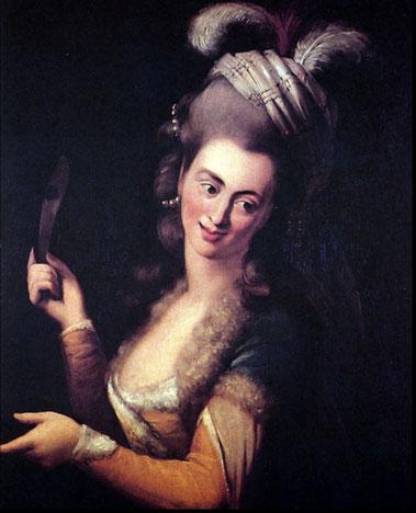 ウェーバー3姉妹の次女でモーツァルトの初恋の女性アロイジア・ウェーバー(1760?-1839) ウィキペディア