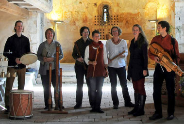 das Pilgerensemble des dresdner blockflöten consort