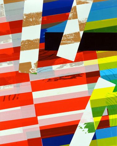 Série de collages de l'artiste bordelais Laurent Valera, questionner la vie