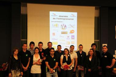 12 années de Concours avec l'Association d'étudiants : Esprit d'Entreprendre