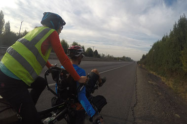 Panamericaine à vélo ruta 5