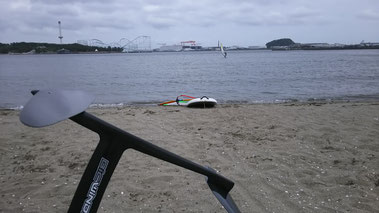 speedwall 画像 ウインドサーフィン スタンドアップパドル SUP スクール始めるなら神奈川県横浜市金沢区 海の公園 スピードウォール