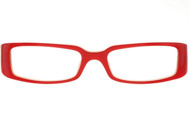 occhiali vista prada donna 06LV 7WS1O1 rosso squadrato