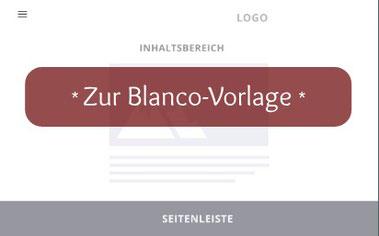 Jimdo Blanco-Vorlage