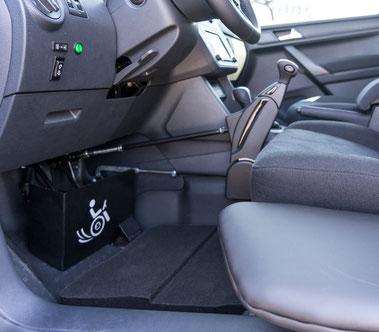 VW Caddy Handgerät Pedalsperre