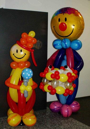 Mr. Balloni.ch, Dekoration, Ballonclowns,Raumdeko, Ballonmann, Helium, Ballontrommel,Fasnacht