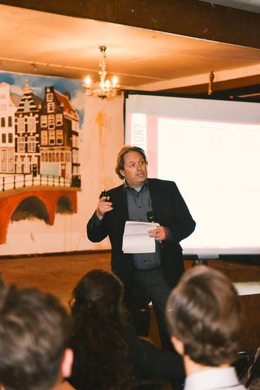 Bob Duynstee als workshopleider