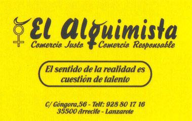 Herbolario Alquimista Arrecife Lanzarote