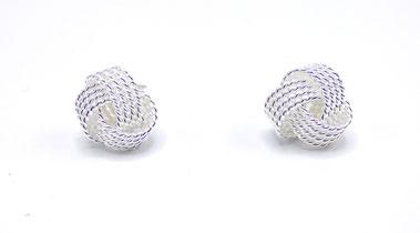 boucles d'oreilles femme originales argent de chez clic tendance