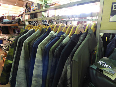 クイックの羽織物系もデース。