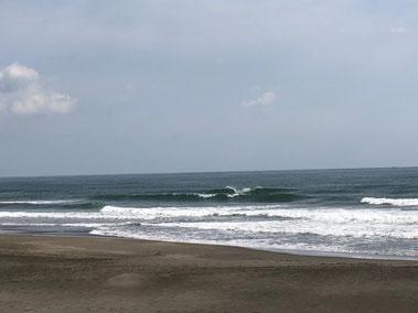 初日のお昼くらいまではイイ波でしたよ。