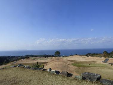 チェリーゴルフ1番ホールからの眺め!