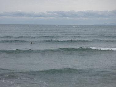 潮も満ちてきてボヨついてきたので8時前に上がったのですが・・ セットがまだ入ってきてる~~~と後悔(笑)