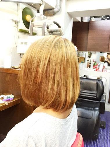 横浜の無責任美容師☆奥条勇紀☆縮毛矯正には、自然な仕上がりが絶対欠かせない