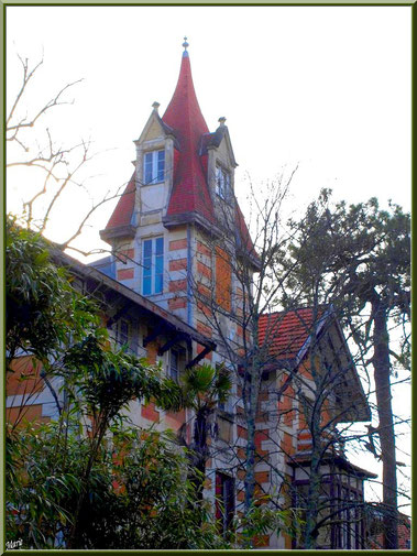 La villa Coulaine en Ville d'Hiver à Arcachon
