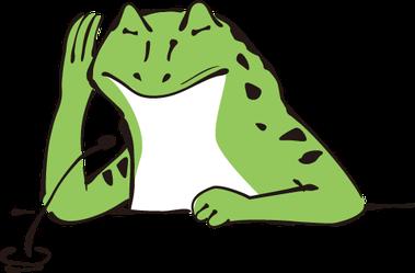 第5の習慣 傾聴するカエル