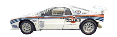 lancia rally 037 martini grafica completa 1983 pubblimais