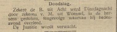 De Tijd : godsdienstig-staatkundig dagblad 03-03-1911