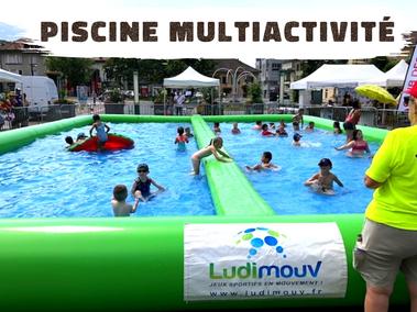 Vente jeu aquatique piscine Annecy