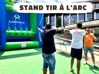 Vente jeux sportifs tir à l'arc Annecy