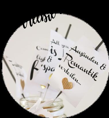 Bild: Vorlage für Wunderkerzen Anhänger zum ausdrucken, Wunderkerzen Hochzeit dekorieren, gefunden auf Partystories.de