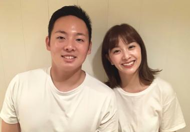 松井裕樹(東北楽天ゴールデンイーグルス)×石橋杏奈(元タレント、ファッションモデル)夫婦