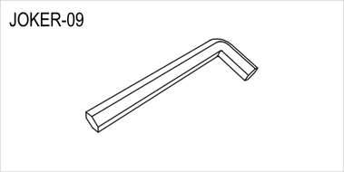 JOKER-09 Ключ шестигранный, 6 мм