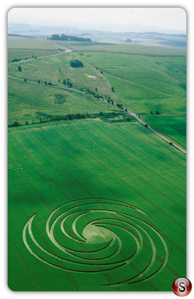 Crop circles - Hackpen Hill, Wiltshire 1999