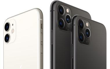 iPhoneの操作風景