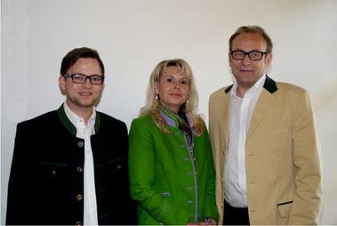 Julius, Manuela und Ing. Christian Schneitler