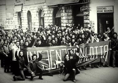 Arbejderkomiteernes demoblok i Milano