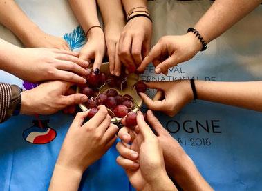 Photo prise par la troupe de LO Wolsztyn pour un jeu-concours photo organisé dans le cadre de la 4ème édition du festival