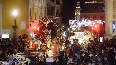 Fiestas en Murcia Cabalgata de Reyes 2017