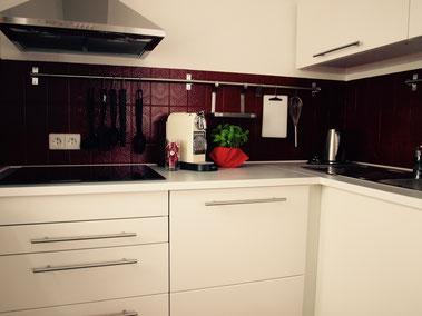 Moderne Küche für Schwarzwaldurlaub