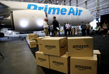 Amazon Prime Air's freighter fleet, provided by Atlas Air and ATI, has grown fast to more than 40 units