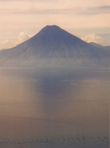 Het 'pad' naar de vulkaan San Pedro