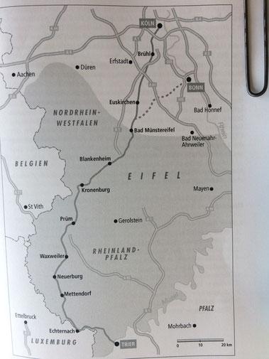Quelle: Der Jakobsweg von Köln nach Santiago de Compostela