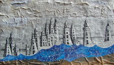 M. Camponeschi, Linee di mare e torri d'acqua