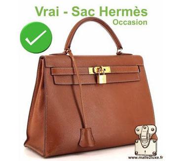 Contrefaçon : Comment reconnaitre faux Hermès sac ? Malle2luxe