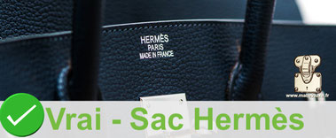Marking is done on three lines:  HERMES PARIS MADE IN FRANCE   On Hermès bags between 1980 and today 2019
