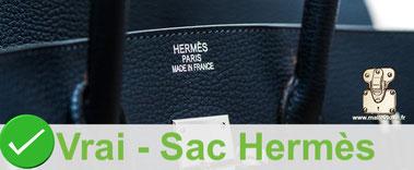 Marquage actuelle  Hermès 3 lignes 1980 a 2019