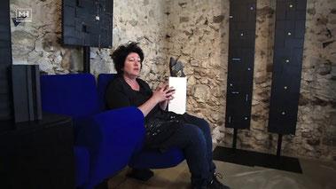 L'artiste champardennaise Sandrine Farget. Capture youtube.