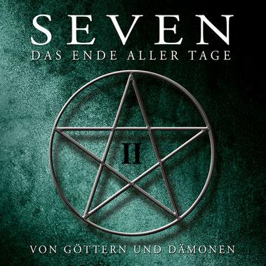 CD-Cover SEVEN - Folge 2 - Von Göttern und Dämonen