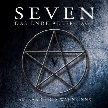 CD-Cover SEVEN - Folge 5 - Am Rande des Wahnsinns