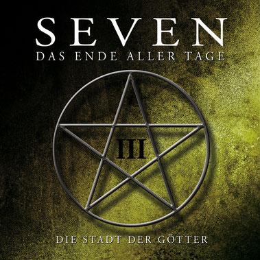 CD-Cover SEVEN - Folge 3 - Die Stadt der Götter
