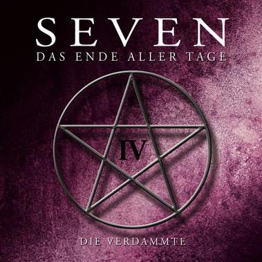 CD-Cover SEVEN - Folge 4 - Die Verdammte