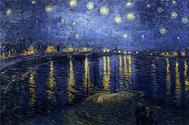 Звездная ночь над Роной - Винсент Ван Гог