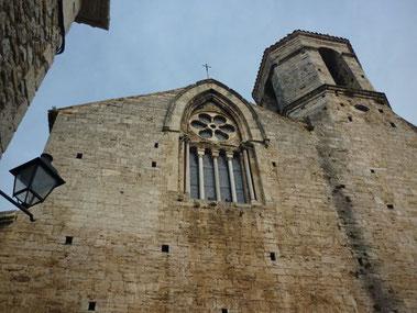 Бесалу - церковь Святого Винсента