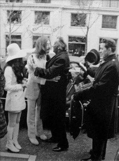 Сальвадор Дали и Джон Леннон - отношения двух гениев