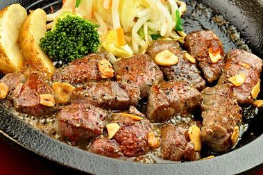 牛の家,池袋,牛肉,ステーキ,リブロースステーキ